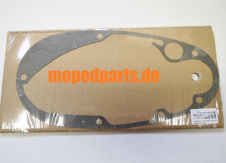 Dichtung Kupplungsdeckel Sachs 100/3 + 100/4, Hercules K100, 101, 102, 103