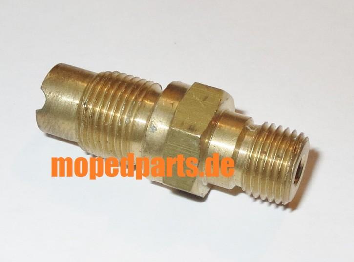 Abschlussschraube M12x1 für Tachoantrieb, Sachs 50S, 80, 125 (1251), 100 (1051)
