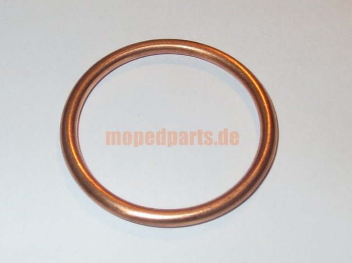 Dichtring Auspuff Hercules Sachs 50 80 501 ckf, 32x38x2,5 Quetschring