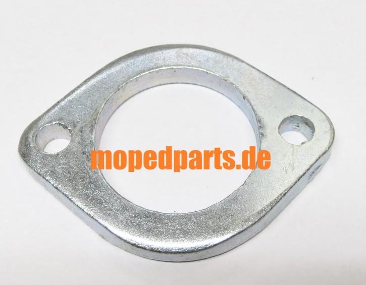 Flanschblech für Krümmer 32 mm, Kreidler Florett, Sachs 50S