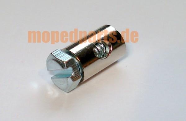 Klemmnippel 6x9 mm für Seile bis 2,5 mm