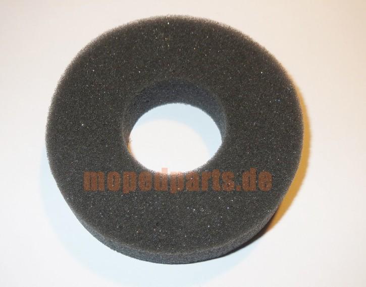 Schwamm für Tankdeckel, rund, schwarz