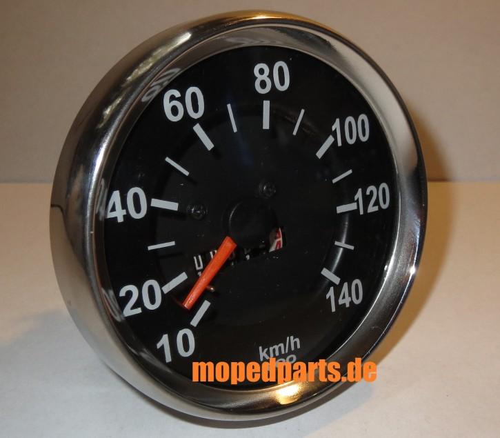 Tacho 140 km/h, Chrom, Hercules, Zündapp, Kreidler, Puch