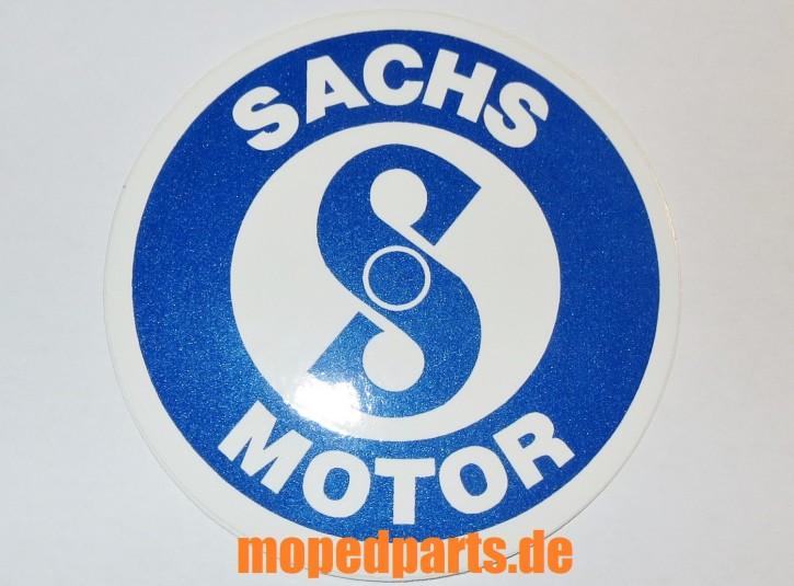 Aufkleber Sachs Motor, rund, 76 mm