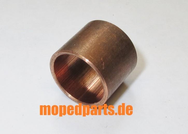 Buchse 12x14x12 mm, Bronze, für Kurbelwelle Puch Maxi