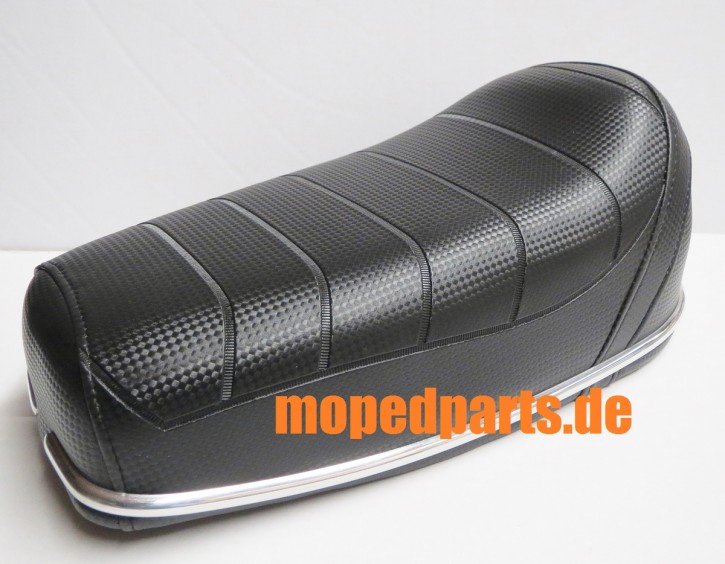 Sitzbank (Sattel) kurz für Moped, Mofa, 38x18 cm