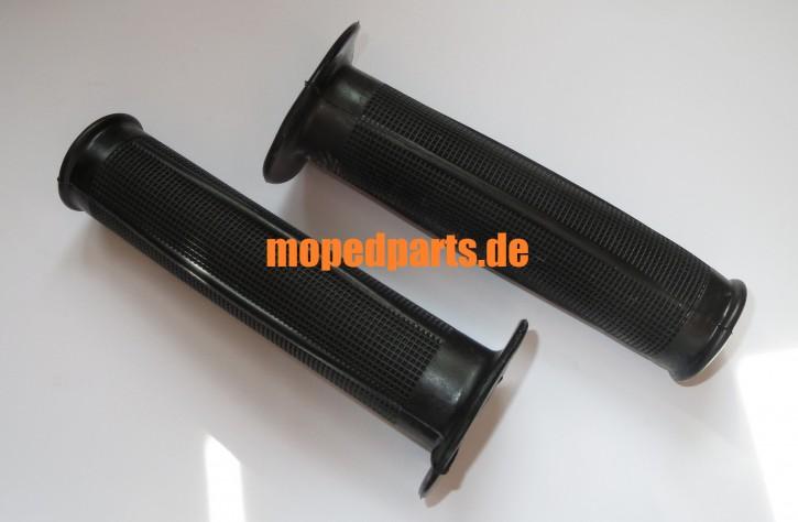 Griffe, Design 70er, ca 130 mm lang, 22 + 24 mm, Hercules, Zündapp