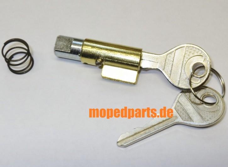 Lenkschloss Zündapp 517, 529, 530, 540, 2 Schlüssel, kann für Hercules angepasst werden