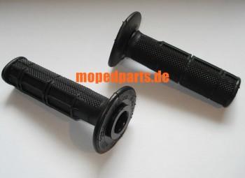 Griffbezüge Domino, schwarz, 22+24x118 mm