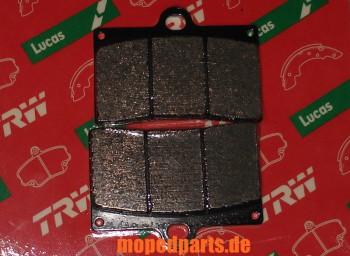 Bremsbeläge Sachs XTC 125, Vorderrad