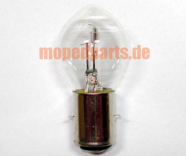 Glühbirne 25W/25W Bilux Hauptscheinwerfer 6V, BA20