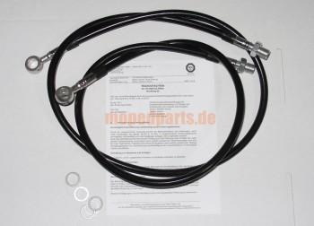Bremsleitungs - Kit Hercules Ultra Doppelscheibenbremse, schwarz