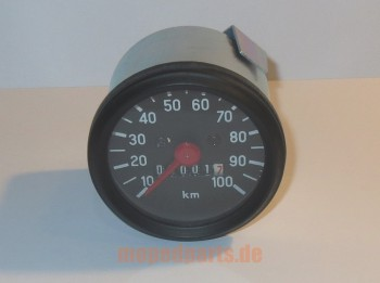 Tachometer 60 mm, 100 km/h, Anschluss VDO
