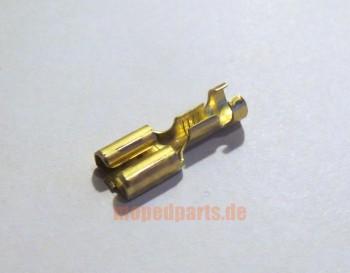 Flachsteckerhülse 6,3x0,8 mm