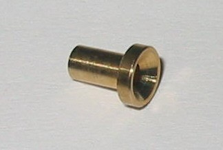 Lötnippel für 2 mm Seile Kupplungszug und Bremszug