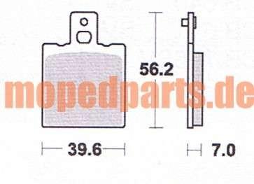 Bremskltze KTM 50 ccm + 80 ccm von Lukas