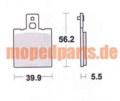 Bremskltze KTM GXE 50 von Lukas