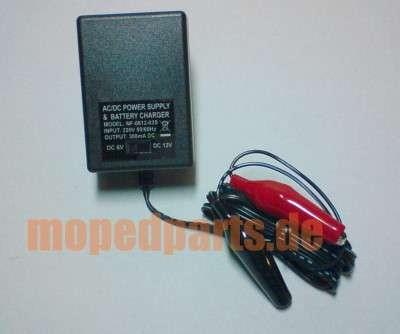 Batterieladegert 6V + 12V