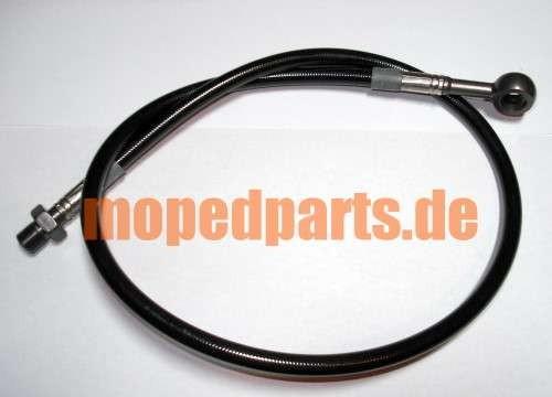 Bremsleitung Hercules Ultra ca. 670 mm, schwarz