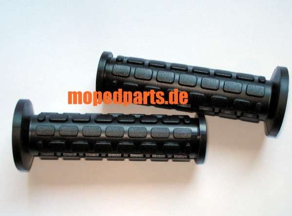 Griffgummi, grips, 22 mm, eckiges Design, Domino