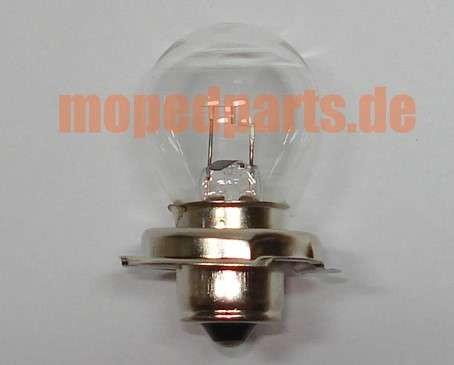 Glühbirne P26S für Hauptscheinwerfer 6V