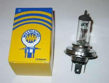 Glühbirne 12V 60/55 Halogen H4 P43t