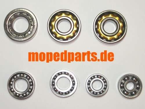Lagersatz Sachs 1251/5A + AL, 1001/5 A, bis Motorn