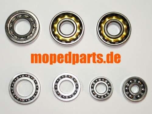 Lagersatz Sachs 125  1251/5A + AL, 1001/5 A, ab Motornr. 6318755, 1001/ A + 6B + 6C, 1251/ 5A + 6B