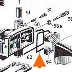 Dichtring Luftfilter Sachs 50, Bing 1/12/XXX