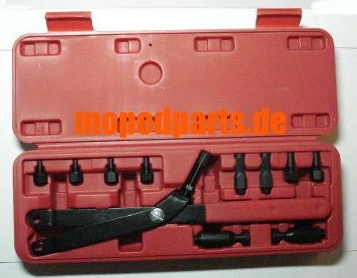 Schwungradhalter, Polradhalter Universal, neue Ausführung