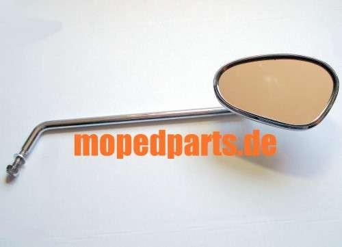 Spiegel Bumm 911/6PR oval chrom, lang, rechts verwendbar