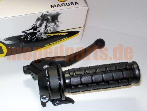 Magura Gasgriff 270.66.9, Bremslichtausführung, Kunststoffhebel, Hercules Prima, MX 1