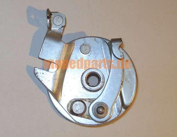 Bremsankerplatte Mobylette, kurzer Ausleger, Durchmesser 79 mm