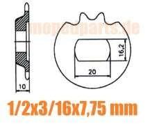 Ritzel Pinion 13 Z. KTM 50 SS Super Enduro 50 ME
