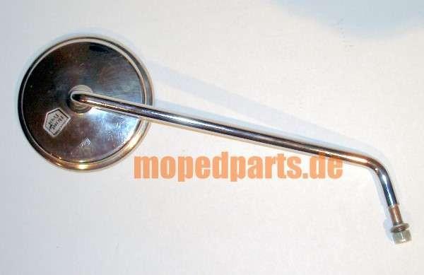 Spiegel Bumm rund, Edelstahl, 110 mm, rechts