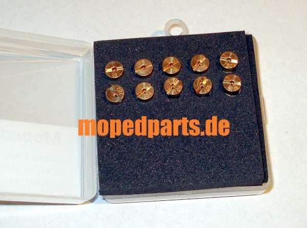 Set Hauptdüsen Dellorto 5mm, 92 bis 100