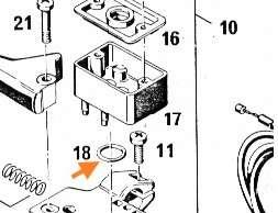 O-Ring für Behälter, Magura Bremszylinder 225
